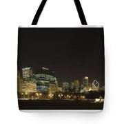 Chicago Bears-chicago Skyline Tote Bag