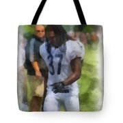 Chicago Bears S M J Jennings Training Camp 2014 Photo Art 01 Tote Bag