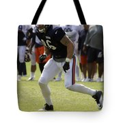 Chicago Bears Te Zach Miller Training Camp 2014 02 Tote Bag