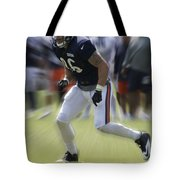 Chicago Bears Te Zach Miller Training Camp 2014 03 Tote Bag