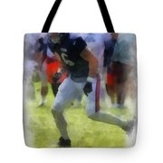 Chicago Bears Te Zach Miller Training Camp 2014 Pa 01 Tote Bag