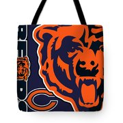 Chicago Bears Tote Bag