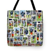 Chicago Bears Training Camp 2014 Collage Pa 01 Tote Bag