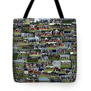 Chicago Bears Training Camp 2014 Collage The Players Tote Bag