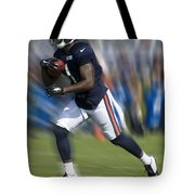 Chicago Bears Training Camp 2014 Moving The Ball 03 Tote Bag