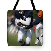 Chicago Bears Training Camp 2014 Moving The Ball 05 Tote Bag