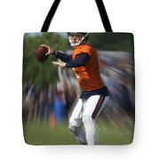 Chicago Bears Training Camp 2014 Moving The Ball 06 Tote Bag