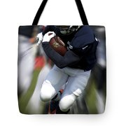 Chicago Bears Training Camp 2014 Moving The Ball 07 Tote Bag