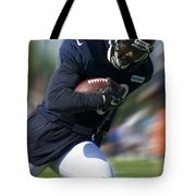 Chicago Bears Training Camp 2014 Moving The Ball 09 Tote Bag