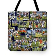 Chicago Bears Training Camp 2014 Pa 02 Tote Bag