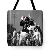 Chicago Bears Wr Alshon Jeffery Training Camp 2014 Sc Tote Bag