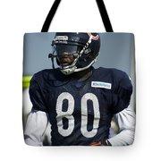 Chicago Bears Wr Armanti Edwards Training Camp 2014 01 Tote Bag