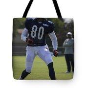 Chicago Bears Wr Armanti Edwards Training Camp 2014 03 Tote Bag