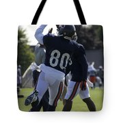 Chicago Bears Wr Armanti Edwards Training Camp 2014 04 Tote Bag