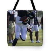 Chicago Bears Wr Armanti Edwards Training Camp 2014 05 Tote Bag