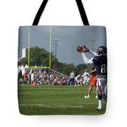 Chicago Bears Wr Armanti Edwards Training Camp 2014 08 Tote Bag