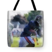 Chicago Bears Wr Micheal Spurlock Training Camp 2014 04 Pa 01 Tote Bag