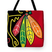 Chicago Blackhawks 2 Tote Bag