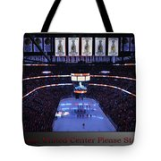 Chicago Blackhawks Please Stand Up With Red Text Sb Tote Bag