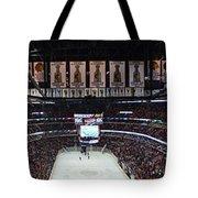 Chicago Blackhawks United Center Panorama 03 Tote Bag