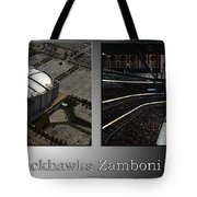 Chicago Blackhawks Zamboni Break Time 2 Panel Sb Tote Bag