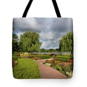 Chicago Botanical Gardens - 97 Tote Bag by Ely Arsha