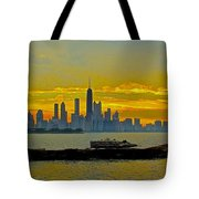 Chicago Breakwater Tote Bag