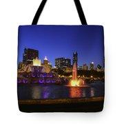 Chicago Buckingham Fountain Tote Bag