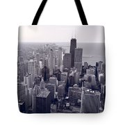 Chicago Bw Tote Bag