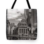 Chicago Crosswalk  Tote Bag