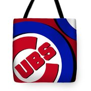 Chicago Cubs Football Tote Bag