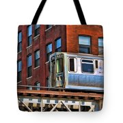 Chicago El And Warehouse Tote Bag