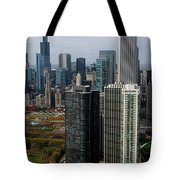 Chicago Harbor Point Tote Bag