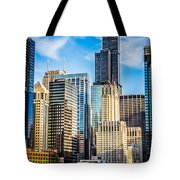 Chicago High Resolution Picture Tote Bag