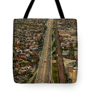 Chicago Highways 01 Tote Bag