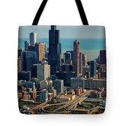 Chicago Highways 05 Tote Bag