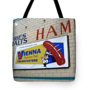 Chicago Hot Dog Joint Tote Bag
