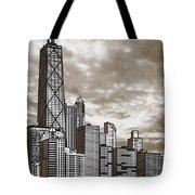 Chicago Illinois No Text Tote Bag