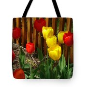 Chicago In The Spring Tote Bag