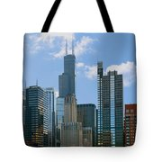Chicago - It's Your Kind Of Town Tote Bag by Christine Till