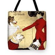 Chicago Kennel Club's Dog Show - Advertising Poster - 1902 Tote Bag