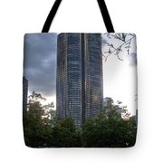 Chicago Lake Point Tower Tote Bag