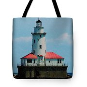 Chicago Lighthouse Tote Bag