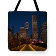 Chicago Lights Tote Bag