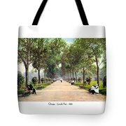 Chicago - Lincoln Park - 1910 Tote Bag