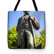Chicago Lincoln Standing Statue Named The Man Tote Bag