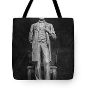 Chicago Lincoln Statue Tote Bag