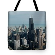 Chicago Looking East 04 Tote Bag