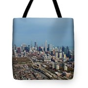 Chicago Looking North 01 Tote Bag