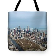 Chicago Looking North 02 Tote Bag